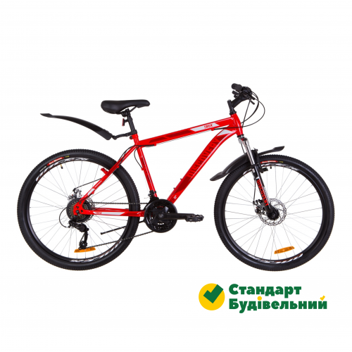"Велосипед 26"" Discovery TREK AM 14G DD рама-18"" St красный 2019 26-165"